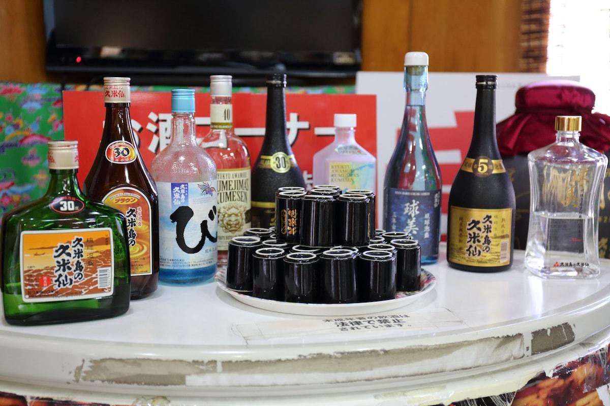 久米島2大泡盛「久米島の久米仙」と「米島酒造」からみる泡盛の魅力